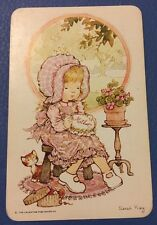 1970's B/Bs Cute Children Sarah Kay  = 1 Playing Swap Cards   *A72