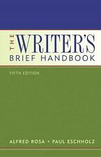 Writer's Brief Handbook (with MyCompLab), The (5th Edition)