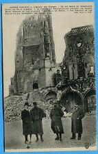 CPA: Ce qui reste du magnifique hôtel de ville d'Arras /Guerre 14-18