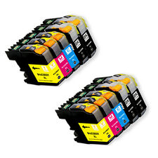 10 PK Ink combo + chip for Brother LC201 LC203 XL MFC J680DW J880DW J885DW