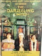THE DARJEELING LIMITED - Owen Wilson - Jason Schwartzman  - Region 1 - DVD