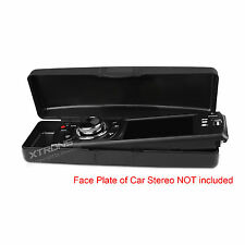 Carrying Case Box for Universal 1 DIN Car Stereo Radio Face Panel Faceplate CD