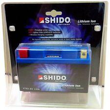 Shido YTX9-BS Lithium Ion Batterie - Lithium Ionen Motorradbatterie 12V