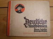 Sammelbilderalbum Deutsche Uniformen Zeitalter Friedrichs des Großen  (91)