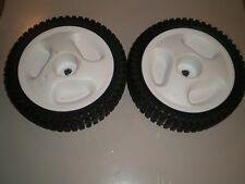 "Front drive Self-Propel Wheels fits Craftsman lawnmower 8"" X 2"" 407755X427 white"