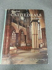 ENGLISH CATHEDRALS IN COLOUR by C.L.S.LINNELL *H/B with D/W 1st EDITION*