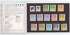 Hong Kong Definitive Stamps 1987