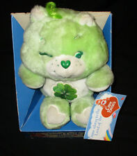 CARE BEARS 13 INCH WINKING GOOD LUCK PLUSH 1984 KENNER WITH TAGS & BOX ATTACHED