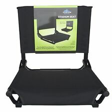 Bleacher Stadium Seat Portable Padded Back Sports New Cascade Mountain