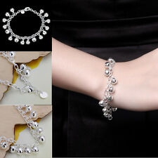 Korean Style Silver Plated Jewelry Jingle Bells Anklet Bracelet Ankle Chain