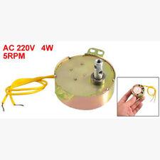 Gelber Draht AC 220 V 50/60 Hz 3 Watt 5 RPM Synchronmotor GY