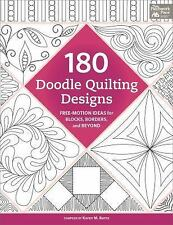 180 Doodle Quilting Designs : Free-Motion Ideas for Blocks, Borders, and...