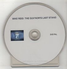 (GS716) Mike Reid, The Guv'nor's Last Stand - DVD