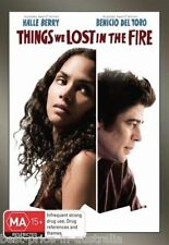 THINGS We LOST in the FIRE DVD BRAND NEW SEALED Halle Berry Benicio Del Toro R4
