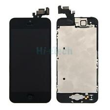Touch Screen LCD Digitizer Assembly for iPhone 5 Black +Button +Front Camera