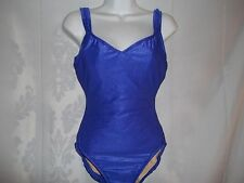 Ladies Size 10 L Vintage Catalina Full Support 1 Piece Swimsuit Bathing Suit