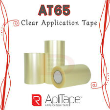 "R-Tape AT65 Clear Application Tape High Tack AdhesiveVinyl Transfer 12""x300ft :)"