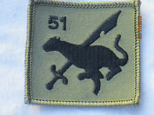 RAF Regiment,  51th Squadron ,Royal Air Force,Luftwaffe, TRF,Patch