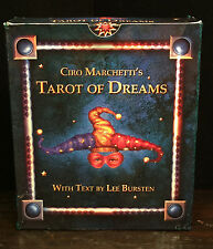 SIGNED TAROT OF DREAMS CIRO MARCHETTI 2005 — 80 CARD SEALED DECK w/ CD Very RARE
