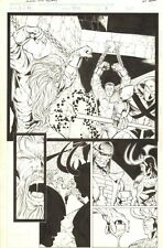 Journey into Mystery #510 p.5 - Odin Tortured Splash - Loki 1997 art by Ed Benes