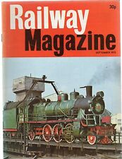 The Railway Magazine : September 1975 published by IPC Transport Press