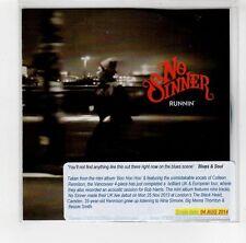 (GI309) No Sinner, Runnin' - 2014 DJ CD