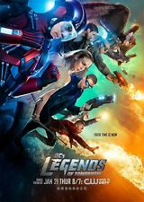 POSTER LEGENDS OF TOMORROW ARROW FLASH BRANDON ROUTH WENTWORTH MILLER TV #3