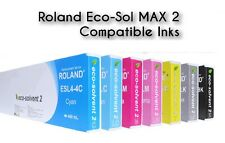6 Tinte f. ROLAND RS-540 RS-640 SP-300V SP-540i SJ-1045 / 440ml Eco Solvent INK