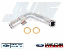 Genuine OEM Ford 6.0L Powerstroke Diesel Updated Turbo Oil Drain Return Tube