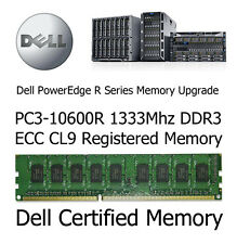 8GB Kit Memory Upgrade Dell PowerEdge R710 PC3-10600R DDR3 ECC Reg Server Memory