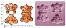 STEAM PUNK HINGE HINGES Large Craft Sugarcraft Sculpey Silicone Mould Mold