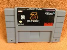 Mortal Kombat 3 *Cart Only* Super Nintendo SNES Fast FREE SHIPPING!