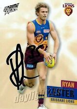 ✺Signed✺ 2013 BRISBANE LIONS AFL Card RYAN LESTER