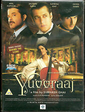 YUVVRAAJ - SALMAN KHAN - KATRINA KAIF - NEW BOLLYWOOD DVD - FREE UK POST