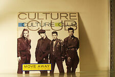 "CULTURE CLUB - MOVE AWAY - VIRGIN 1986 EX 2 TRACK 12"" VINYL RECORD - E"