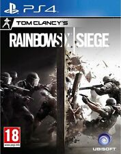TOM CLANCY'S RAINBOW SIX SIEGE PS4 Game (BRAND NEW SEALED)