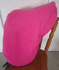 Horse Stock / Western / Swinging Saddle cover FREE EMBROIDERY Candy Pink