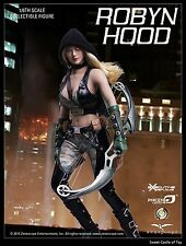 1/6 Phicen Female Robyn Hood PL2015-79 Collector Figure w/Steel Skeleton Body