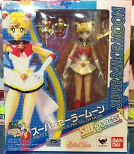 "PRETTY GUARDIAN SUPER SAILOR MOON  FIGURA 15 CM BANDAI ORIGINAL ""NUEVA"" NEW"