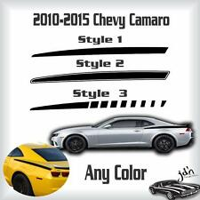 2010 2011 2012 2013 2014 2015 Chevy Camaro Quarter Stripes Decal Sticker Graphic
