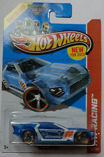 2013 Hot Wheels HW RACING Bullet Proof 140/250 (Clear Blue Version)