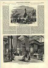 1875 Paris International Exhibition Furnished Apartment Anglo-american Church