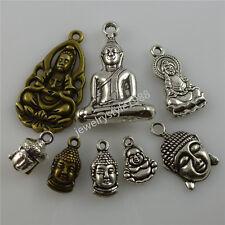 8PCS MIX Guanyin bodhisattva Goddess of Mercy Faith Buddhism Buddha Pendant