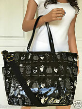 NWT KATE SPADE DAYCATION  HAPPY HOUR BLACK COLORED DIAPER BAG WITH CHANGING PAD