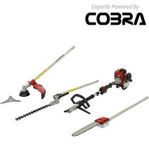 Cobra Multi-Tool MT250C 4 in 1 Petrol Hedge cutter/Strimmer/Pole chainsaw