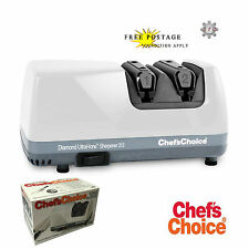 CHEF'S CHOICE CC 312 Electric Diamond Knife Sharpener for European Knives
