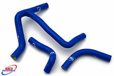 SUZUKI RMX 450 Z 2010-2016 HIGH PERFORMANCE SILICONE RADIATOR HOSES (Y-KIT) BLUE