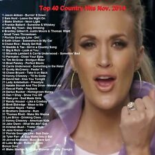Country Music Promo DVD, Top 40 Country Hit Videos Nov. 2014, NEW ONLY on Ebay!