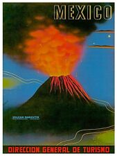 "Art Mexico Travel Poster Rare Hot New 12x18"" TR150"