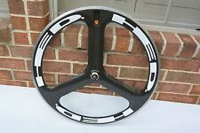 Rear Specialized/HED 3 Trispoke 700c Clincher